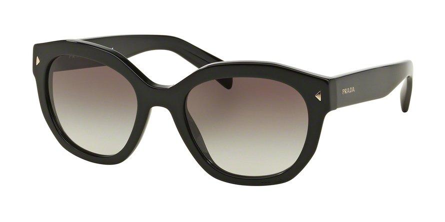 Prada 0PR 12SSF Black Sunglasses