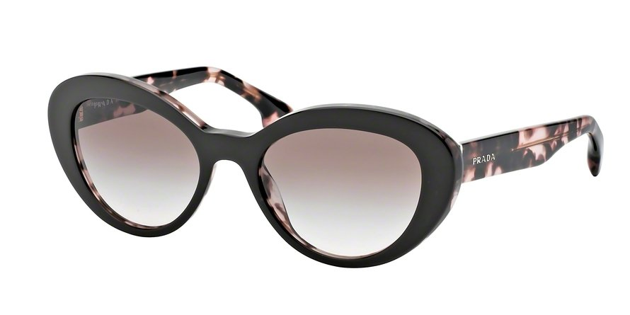 Prada 0PR 15QS Brown Sunglasses