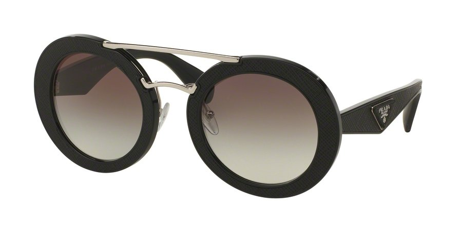Prada 0PR 15SS Black Sunglasses