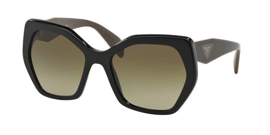 Prada 0PR 16RSF Black Sunglasses