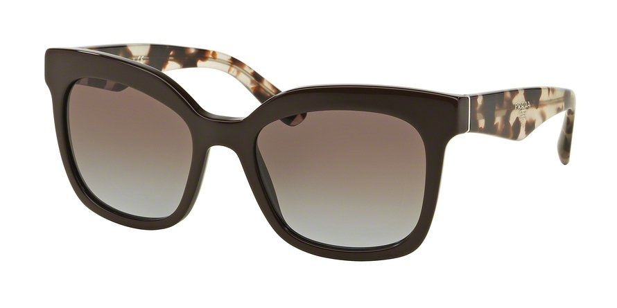 Prada 0PR 24QS Brown Sunglasses