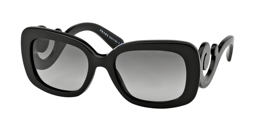 Prada 0PR 27OS Black Sunglasses