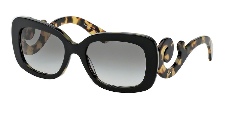 Prada 0PR 27OSA Black Sunglasses