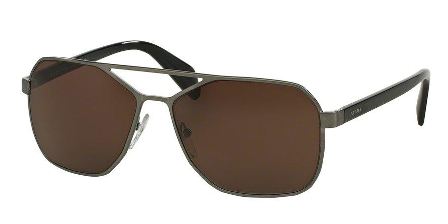 Prada 0PR 54RS Gunmetal Sunglasses