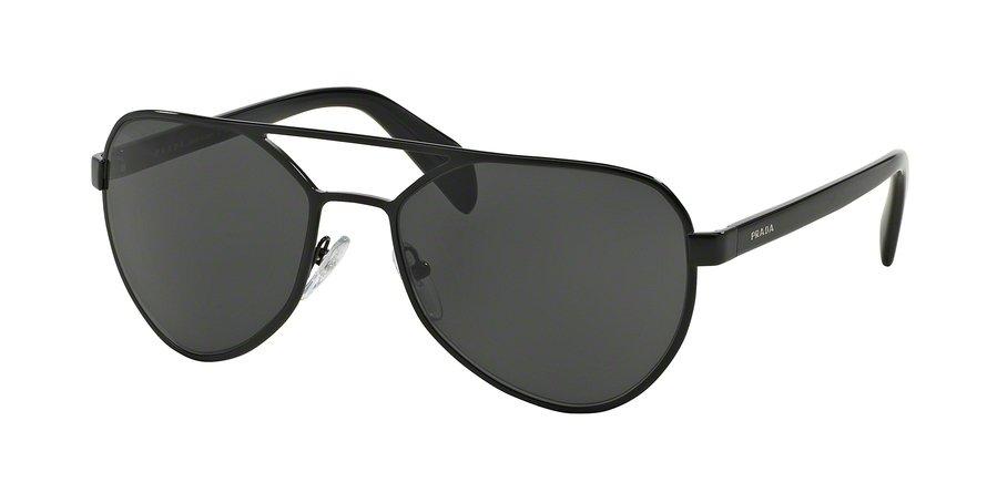 Prada 0PR 55RS Black Sunglasses