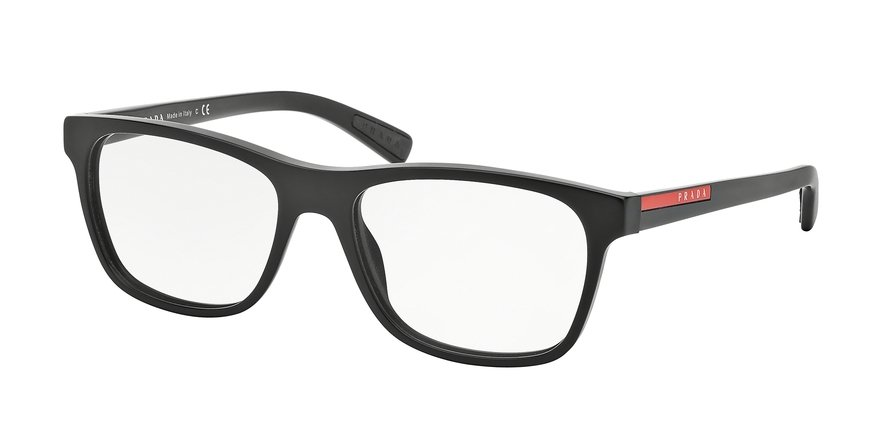 Prada Linea Rossa 0PS 01FVA Black Eyeglasses