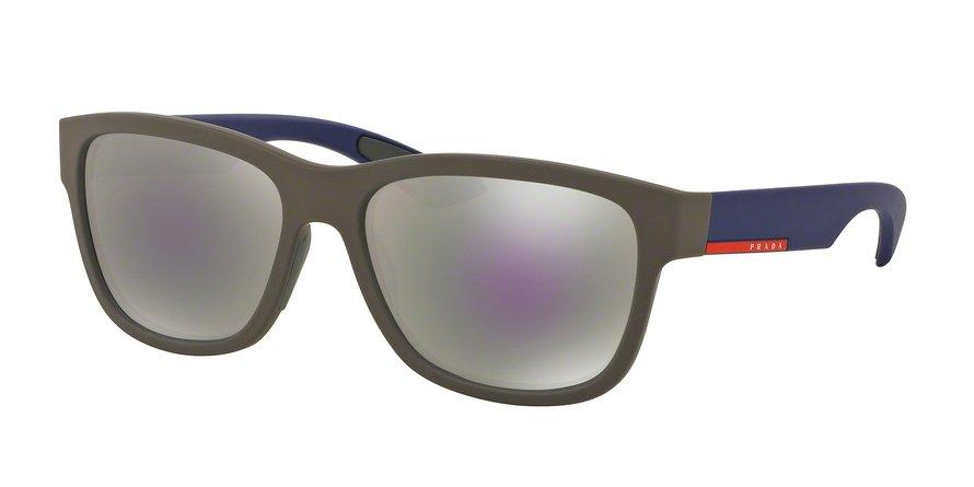 Prada Linea Rossa 0PS 03QS Brown Sunglasses