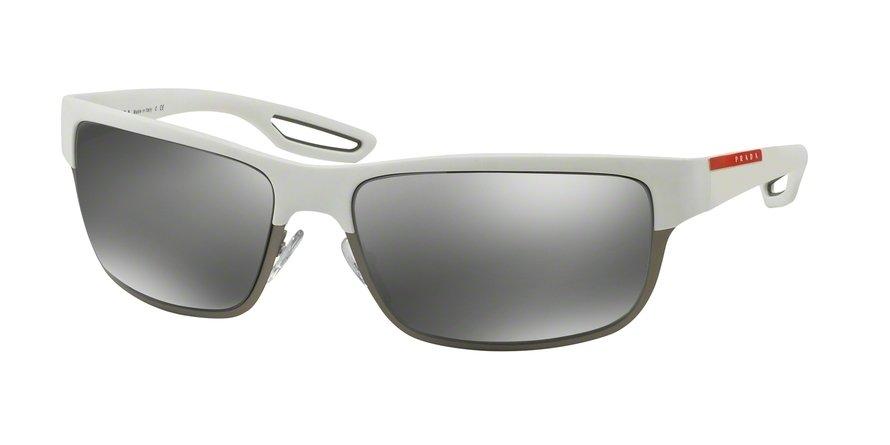 Prada Linea Rossa 0PS 50QS White Sunglasses