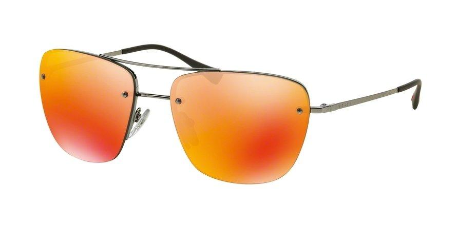 Prada Linea Rossa 0PS 52RS Gunmetal Sunglasses
