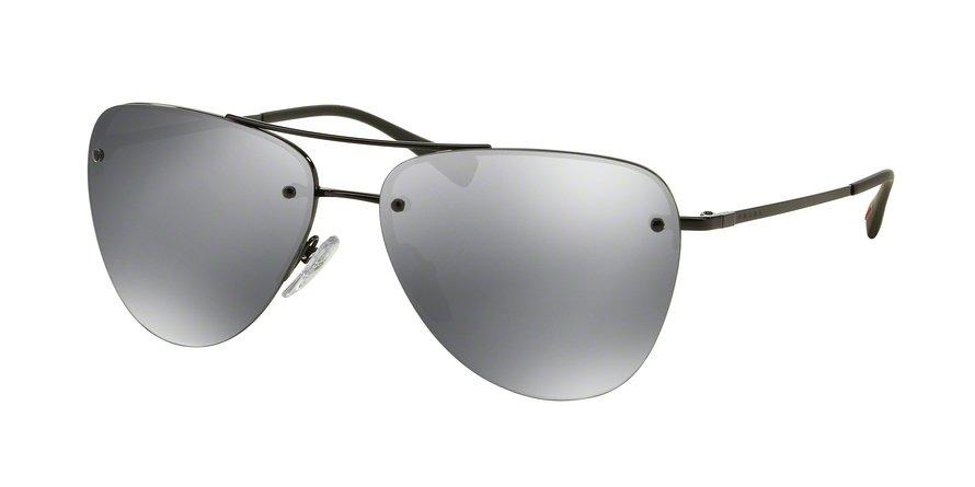 Prada Linea Rossa 0PS 53RS Black Sunglasses
