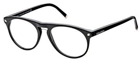 DSQUARED2 DQ5074 001   - shiny black Plastic