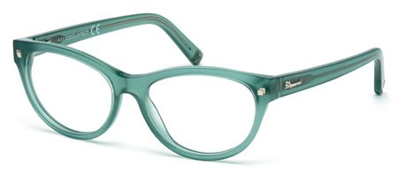 DSQUARED2 DQ5142 084   - shiny light blue Plastic