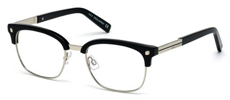 DSQUARED2 DQ48 JAMES 001   - shiny black Plastic