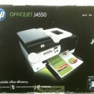 HP OfficeJet J4550 All-In-One Inkjet Printer USED/ Awesome condition in mfg/box