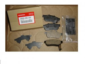 OEM Rear Disc Brake Pads Genuine Honda  for Acura Integra  Honda Civic CRX Del Sol