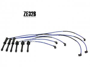 ZE32B 8163 NGK Spark Plug Wires set Cables MAZDA 626 MX6 Millenia V6