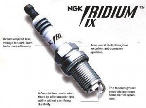 4 NGK Iridium IX Spark Plugs 1985-1989 Toyota MR2 4A-GELC