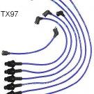 TX97 NGK Spark Plug Wires Cables TOYOTA Cressida Supra 5MGE