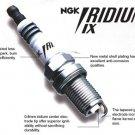 4 BCPR5EIX 5688 NGK Iridium IX spark plugs