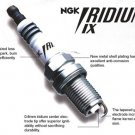 4 BR8EIX 5044 NGK Iridium IX Spark Plugs ATV Motorcycle Snowmobile