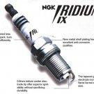 6 NGK Iridium IX Spark Plugs  Acura RL SLX TL  Honda Passport