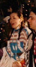Native American Indian Buckskin Suede Dress Top Pow Wow Regalia