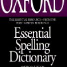 NEW Oxford Essential Spelling Dictionary