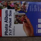 New Canon Create-Your-Own Photo Album 3 x 3 Inches Pocket Sized