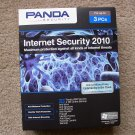New Panda Internet Security 2010 3 PCs