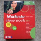 NEW Bitdefender Internet Security 2010 3Pc/2 Years