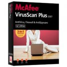 New McAfee VirusScan Plus 2007 - PC