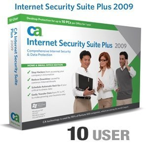 New CA Internet Security Suite Plus 2009 - 10 User