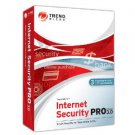 New Trend Micro Internet Security Pro 3.0 3PC