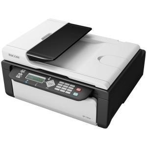 NEW Ricoh Aficio Sp 100sfe Monochrome Laser AIO Printer