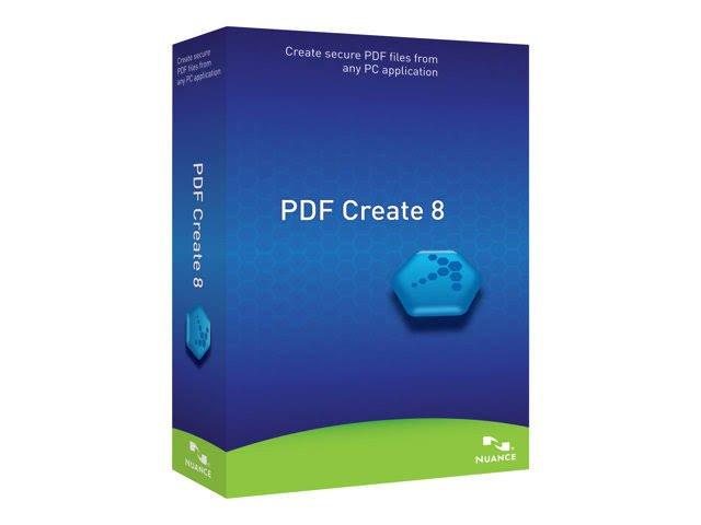 Brand New Nuance PDF Create 8