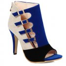 Fashion Peep Toe Shoes With Buckle Design