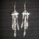 April - Crystal Chandelier Earrings