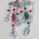 Christmas chandelier earrings