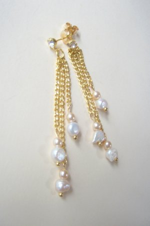 Cascade Freshwater Pearl Earrings