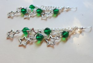 Starlight Earrings - Emerald