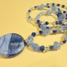 Study in Blue necklace