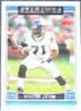 2006 Topps Walter Jones #15 Seahawks