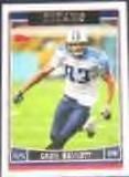 2006 Topps Drew Bennett #80 Titans