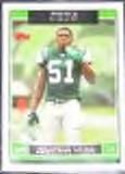 2006 Topps Jonathan Vilma #1 Jets