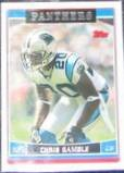 2006 Topps Chris Gamble #7 Panthers