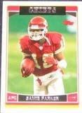 2006 Topps Samie Parker #65 Chiefs