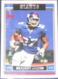 2006 Topps Brandon Jacobs #22 Giants