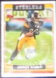 2006 Topps Cedrick Wilson #124 Steelers