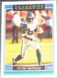 2006 Topps Peter Warrick #230 Seahawks