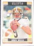 2006 Topps Drew Brees #161 Saints